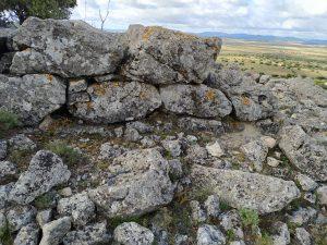 Restos de construcción San Bernabé.